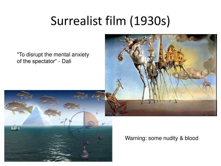 Surrealist film (1930s)