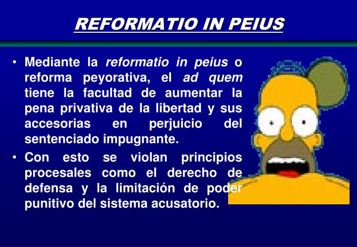 REFORMATIO IN PEIUS