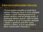 internacionalizacijska klavzula