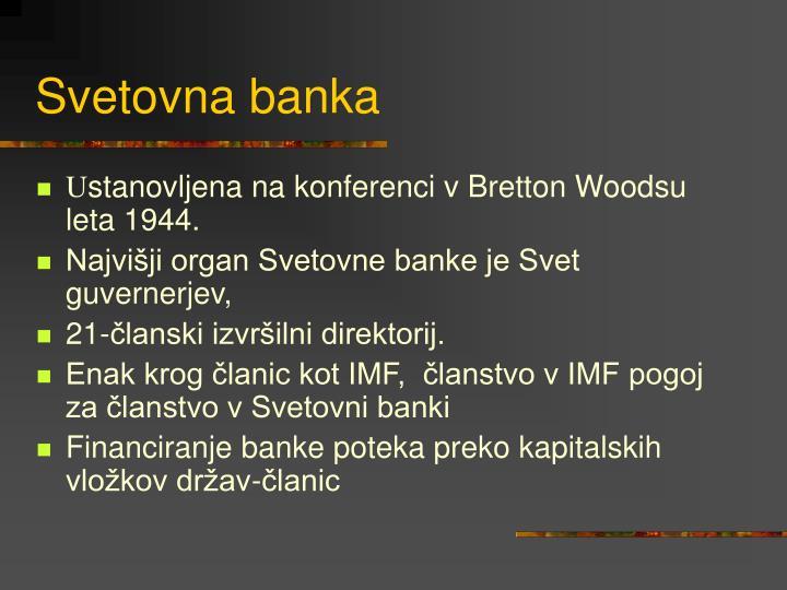 Svetovna banka