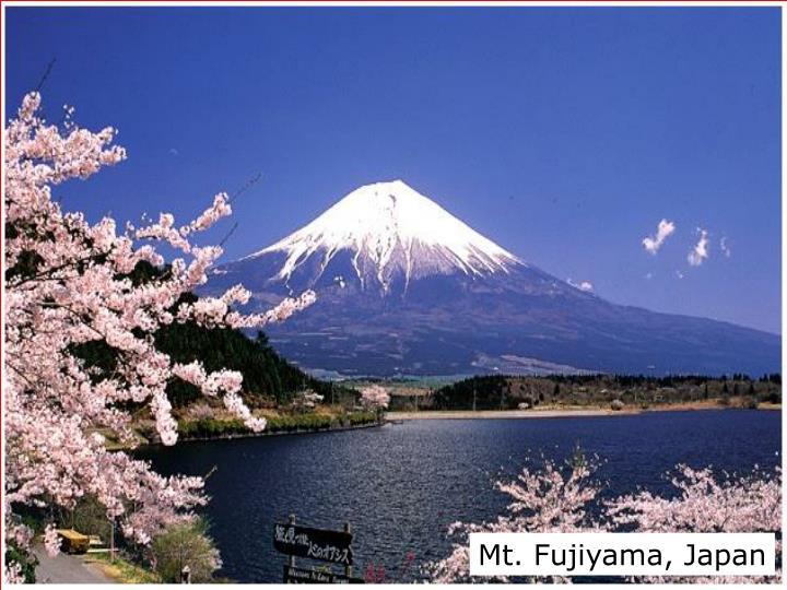 Mt. Fujiyama, Japan