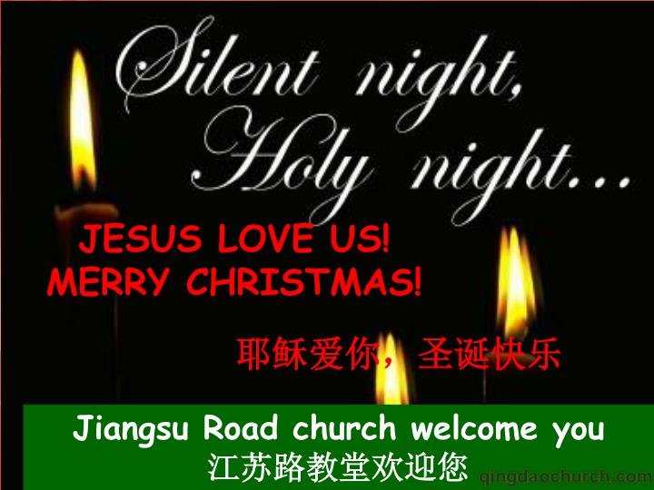 JESUS LOVE US!