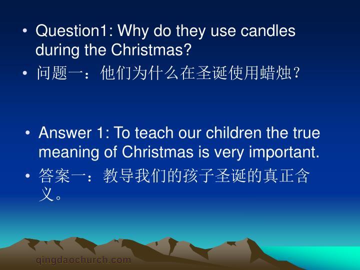 Question1:
