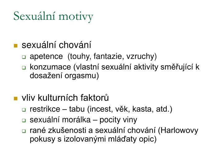 Sexuální motivy