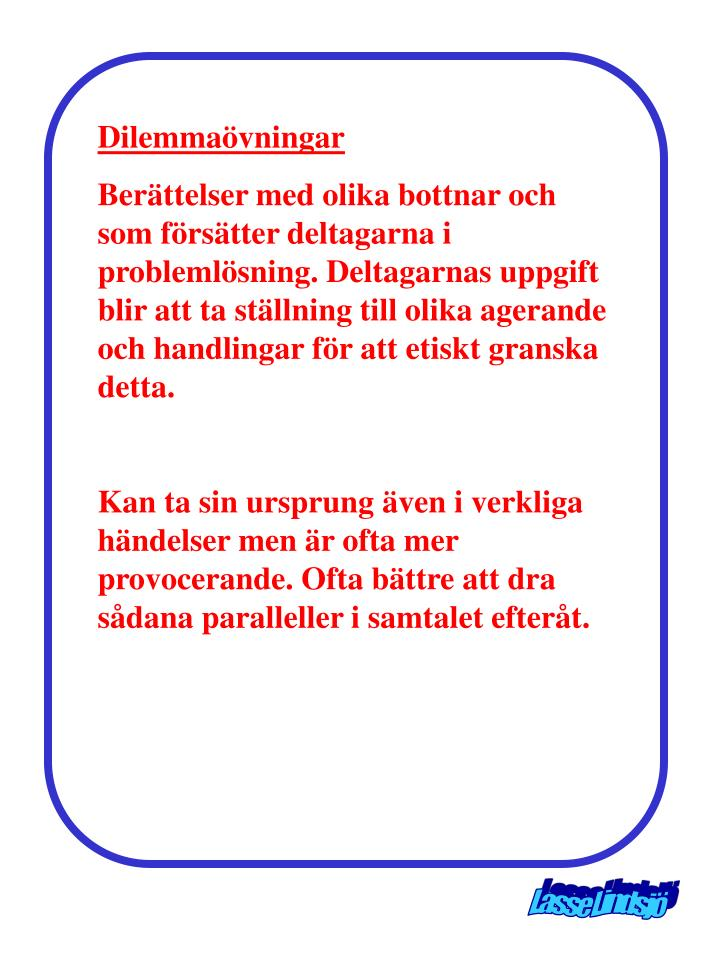 Dilemmaövningar