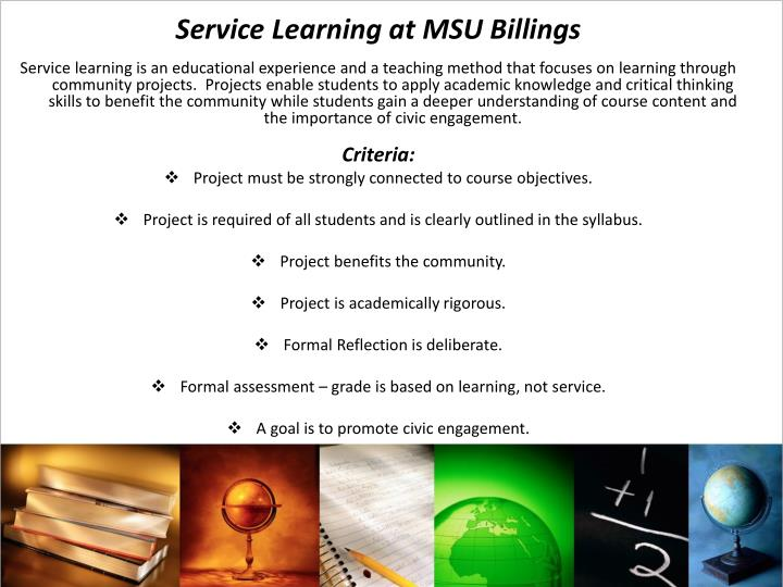 Service Learning at MSU Billings
