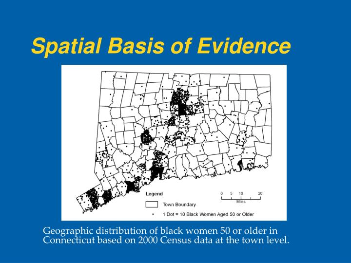 Spatial Basis of Evidence
