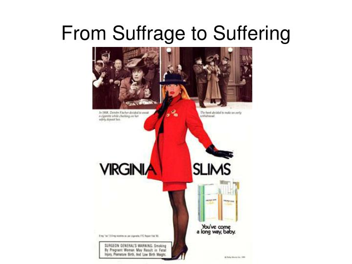 From Suffrage to Suffering