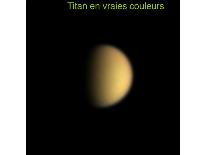 Titan en vraies couleurs