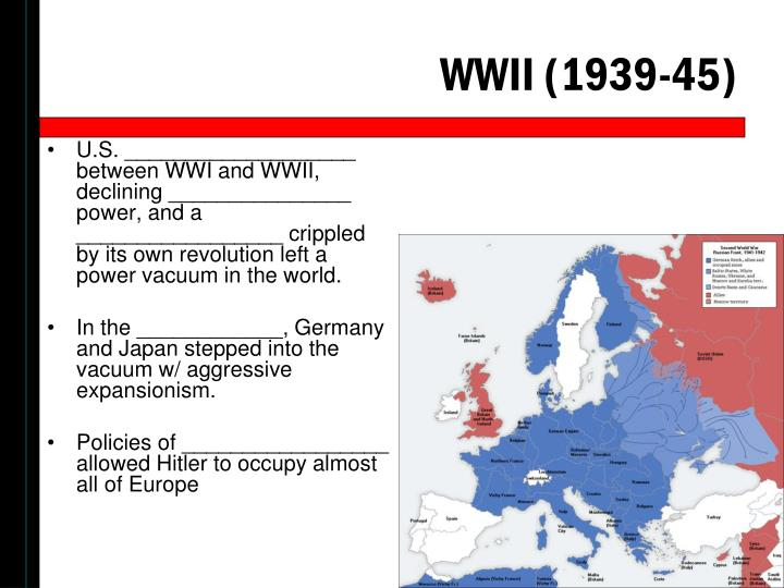 WWII (1939-45)