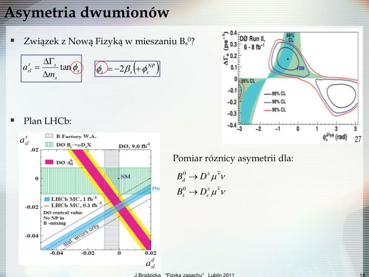 Asymetria dwumionów
