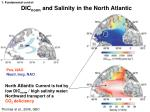 dic norm and salinity in the north atlantic