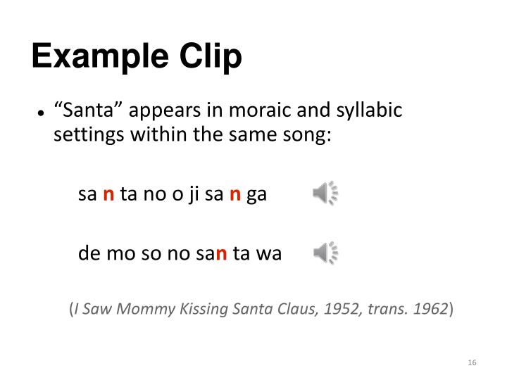 Example Clip