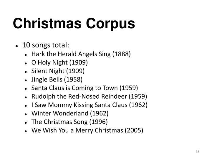 Christmas Corpus