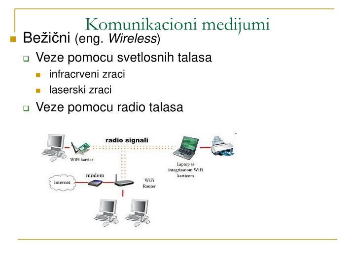Komunikacioni medijumi