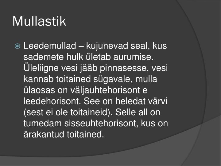 Mullastik