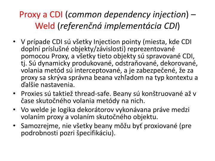 Proxy a CDI