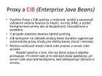 proxy a ejb enterprise java beans