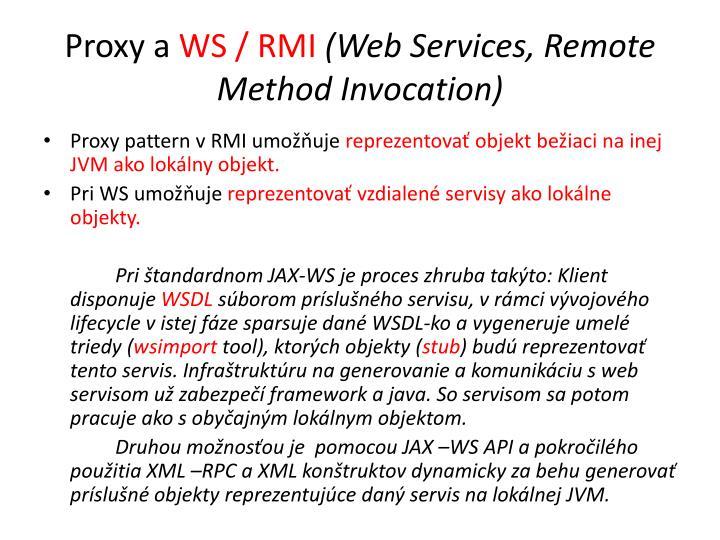 Proxy a