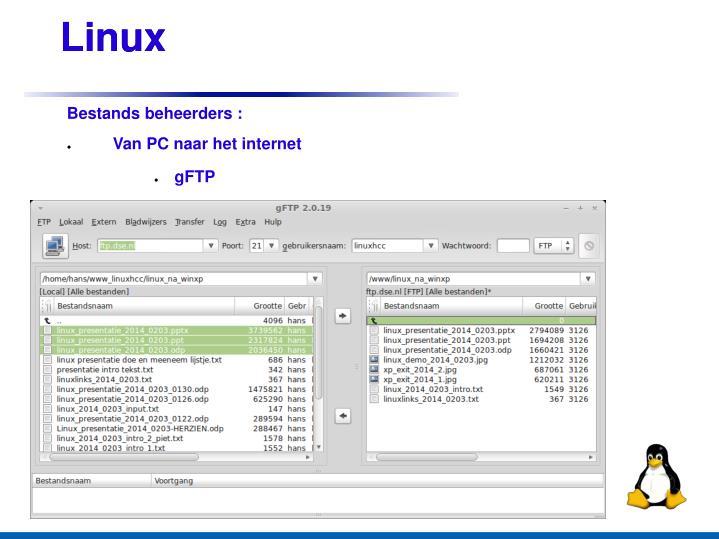 Ppt linux mint 3 februari 2014 powerpoint presentation id 4472416 - Verwijderbare partitie ...