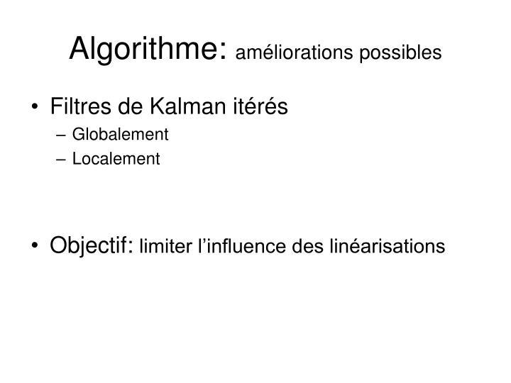 Algorithme: