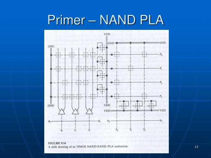 Primer – NAND PLA