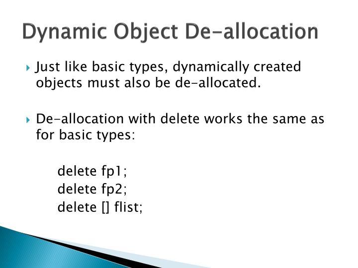 Dynamic Object
