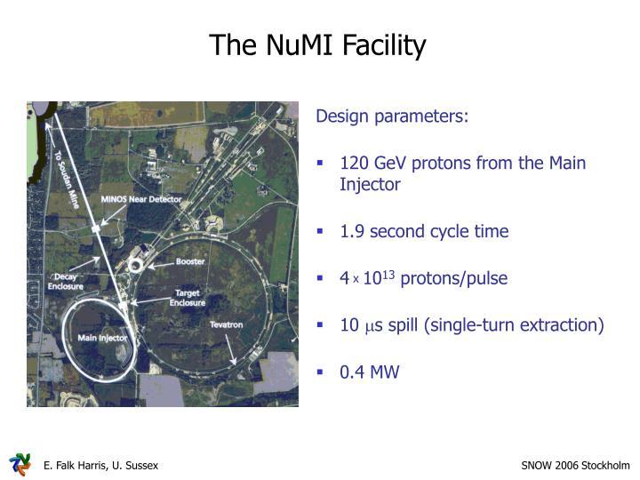 The NuMI Facility