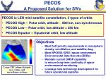 pecos a proposed solution for swx
