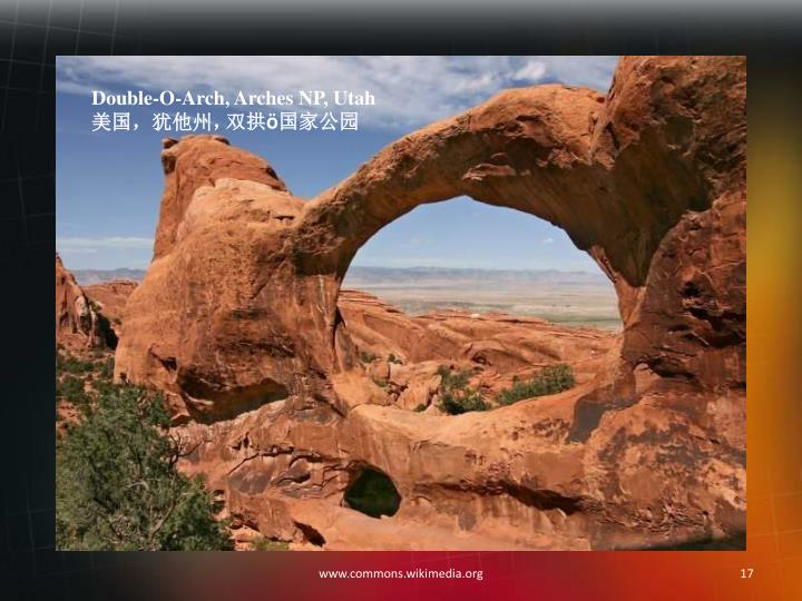 Double-O-Arch, Arches NP, Utah