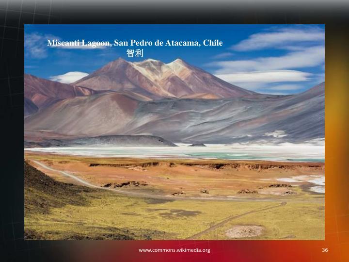 Miscanti Lagoon, San Pedro de Atacama, Chile
