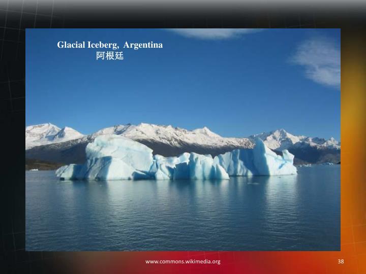 Glacial Iceberg,  Argentina