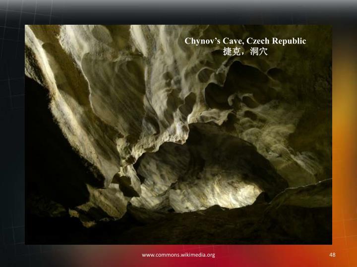 Chynov's Cave, Czech Republic