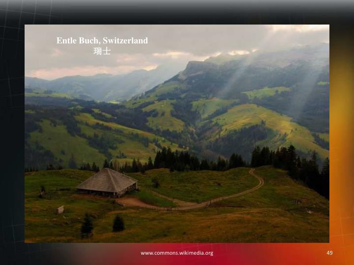 Entle Buch, Switzerland