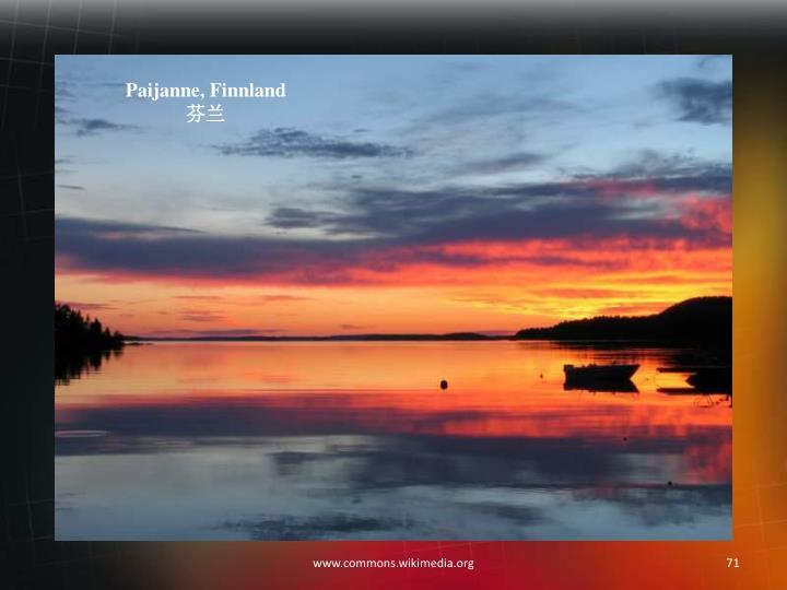 Paijanne, Finnland