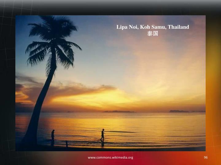 Lipa Noi, Koh Samu, Thailand