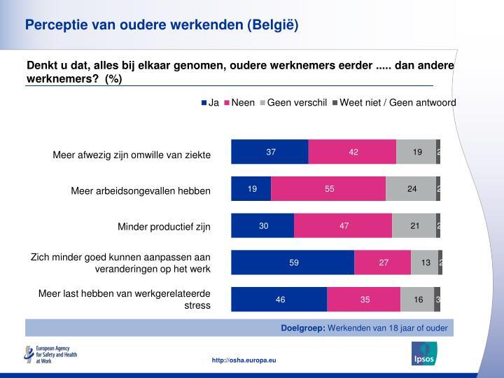 Perceptie van oudere werkenden (België)