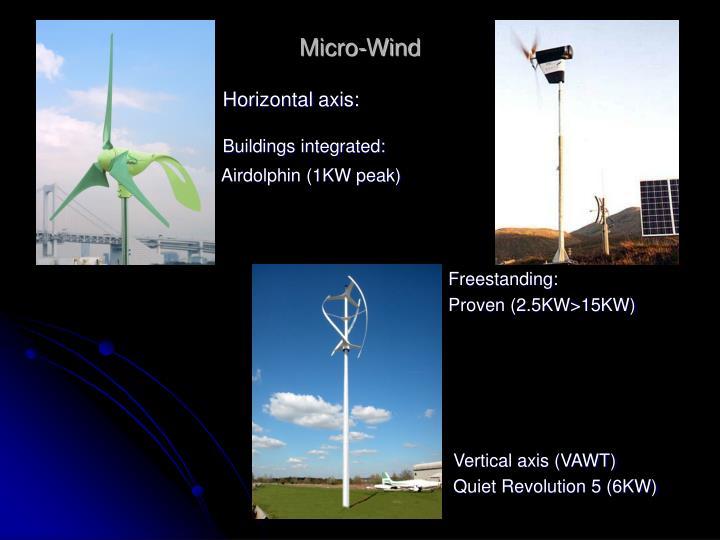 Micro-Wind
