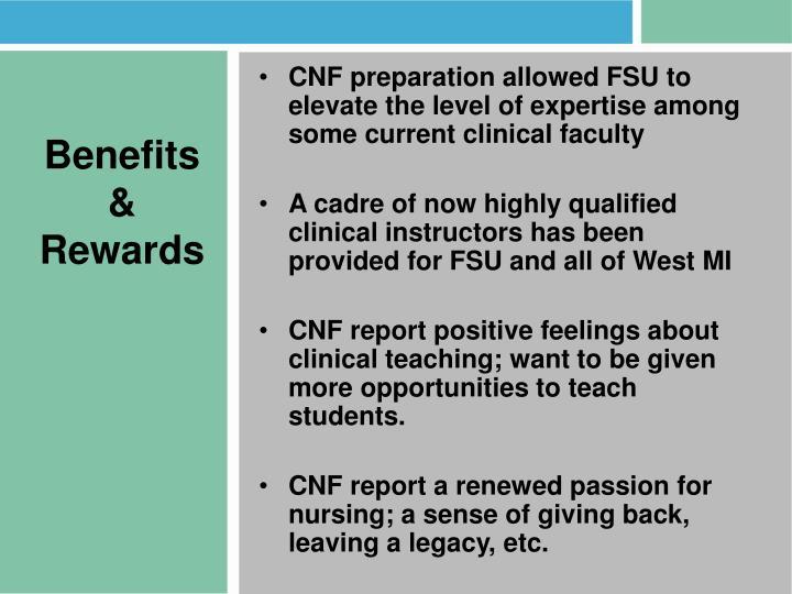 Benefits & Rewards