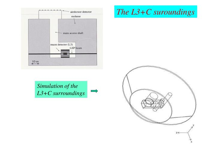 The L3+C suroundings