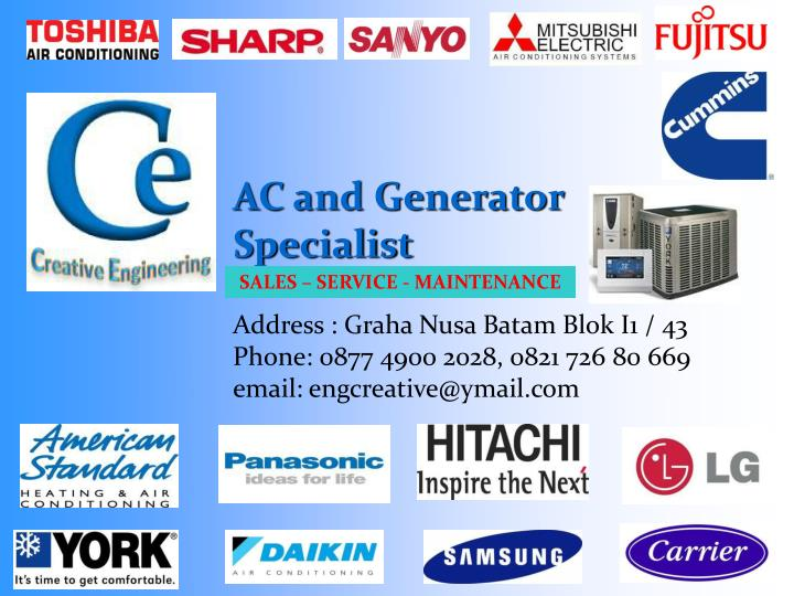 AC and Generator