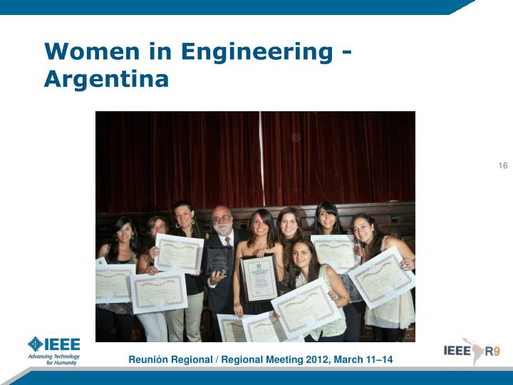 Women in Engineering - Argentina