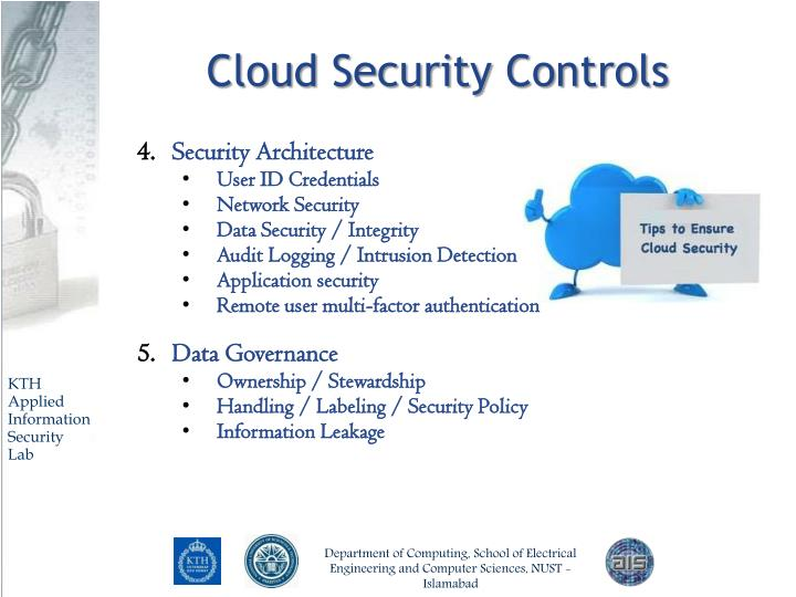 Cloud Security Controls