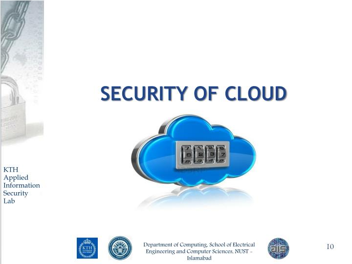 SECURITY of Cloud