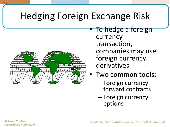 international trade currency risk
