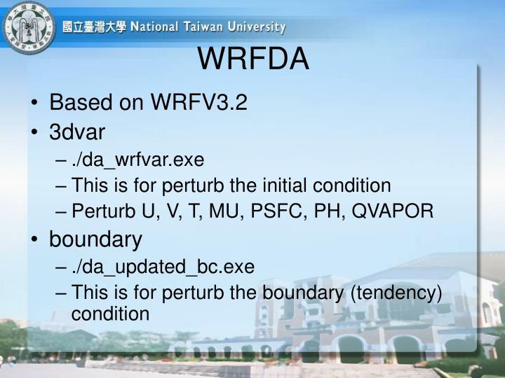 WRFDA