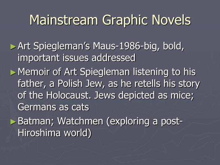 Mainstream Graphic Novels