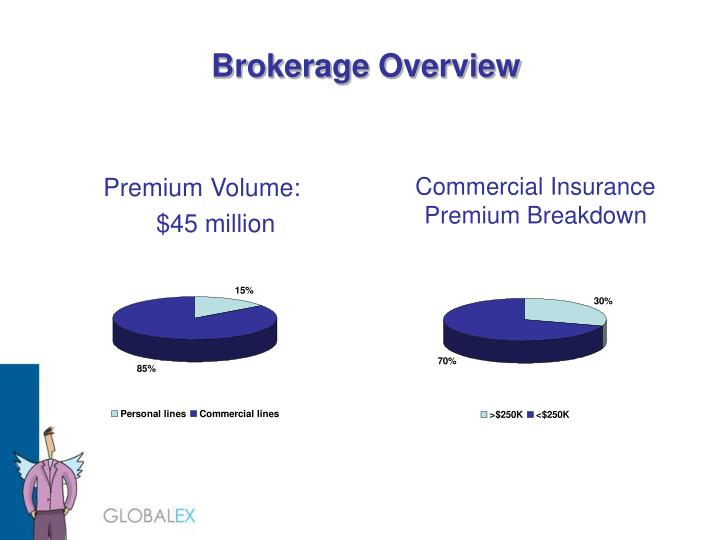 Commercial Insurance Premium Breakdown