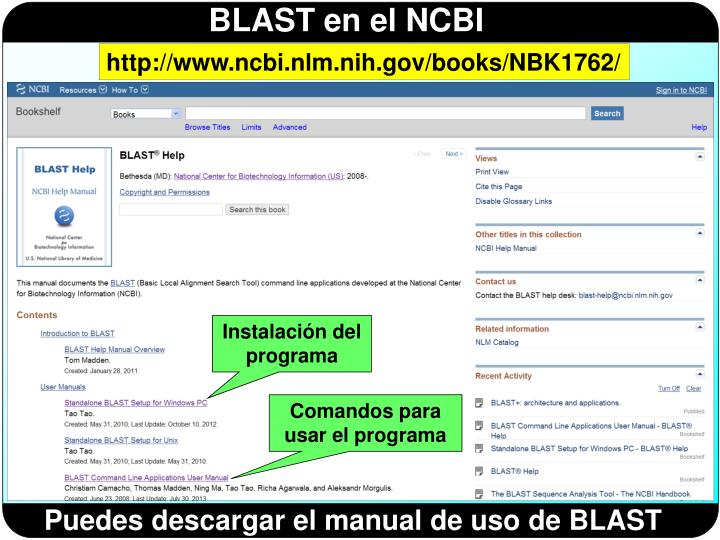 http://www.ncbi.nlm.nih.gov/books/NBK1762/