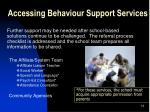 accessing behaviour support services1